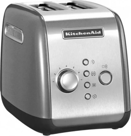 Тостер KitchenAid 5KMT221EMS серебристый